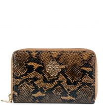 Brown snake wallet