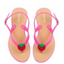 Φούξια σαγιονάρα με φράουλα