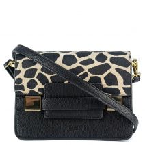 Black animal hair bag