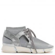 Ασημί ελαστικό sneaker