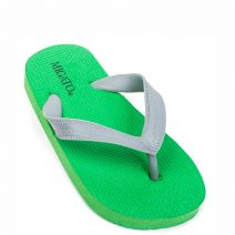 Kid's grey beach slipper with thong