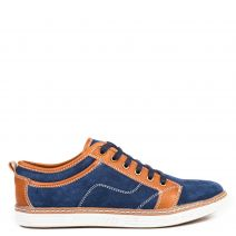 Μπλε ανδρικό sneaker