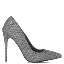 Pewter metallic pump