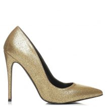 Gold metallic pump