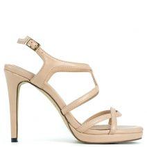 Nude multistrap sandal