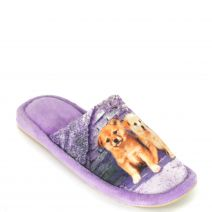 Purple slipper