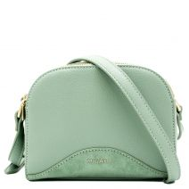 Mint green crossbody bag