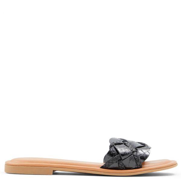 LOTHELALIAN Μαύρο σανδάλι