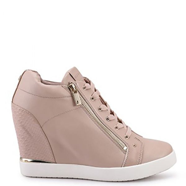 TRIXIE Ροζ sneaker με πλατφόρμα