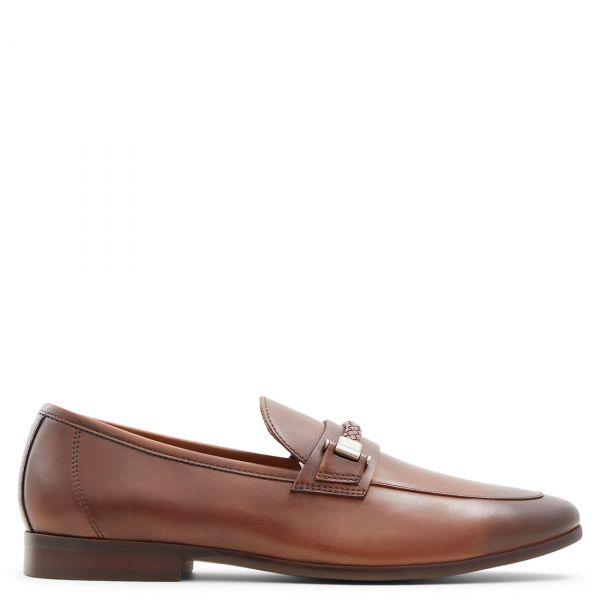 HATTEMSEFLEX Ανδρικό ταμπά δερμάτινο loafer