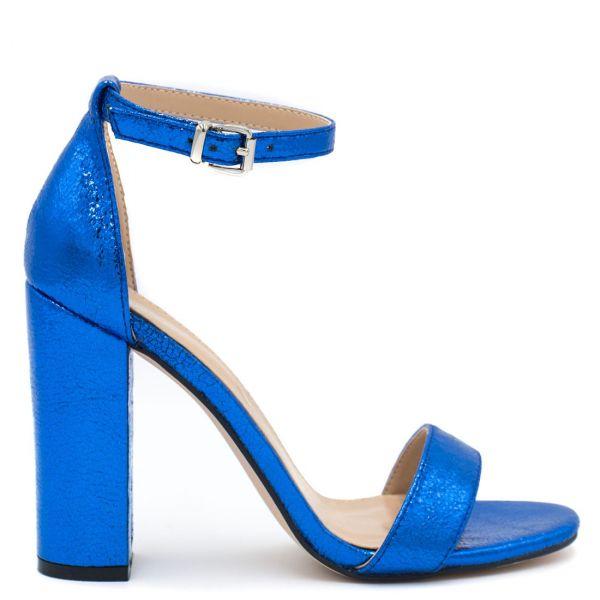 Μπλε μεταλλικό πέδιλο