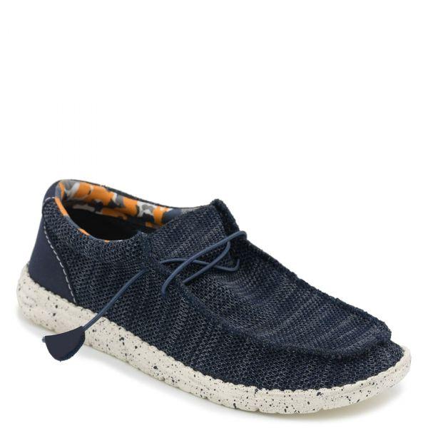 Ανδρικό μπλε υφασμάτινο sneaker