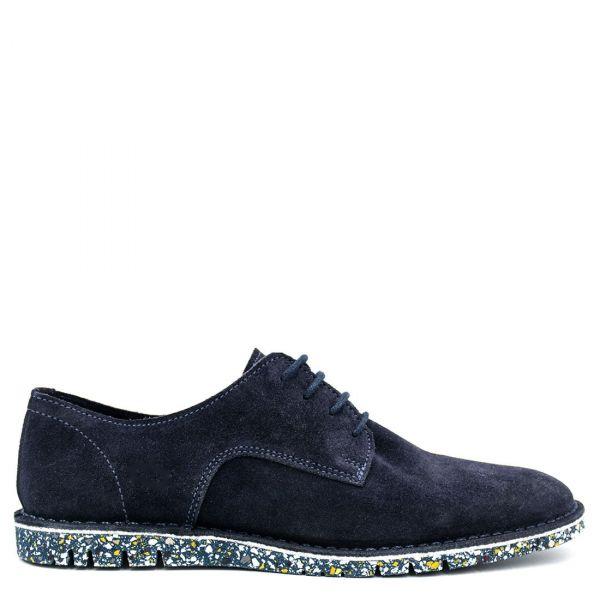 Ανδρικό μπλε καστόρινο παπούτσι