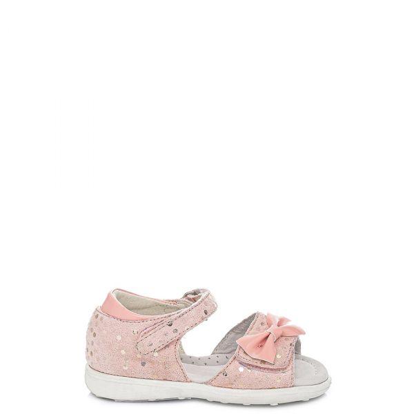 Ροζ παιδικό πέδιλο με φιόγκο