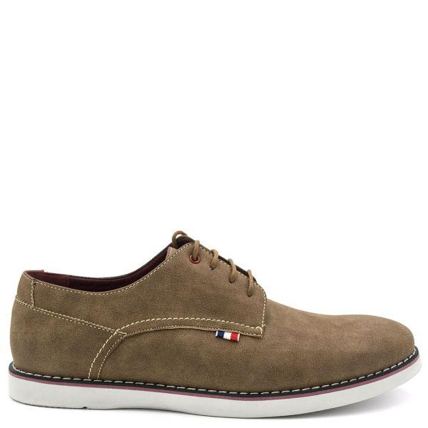 Ανδρικό καφέ παπούτσι