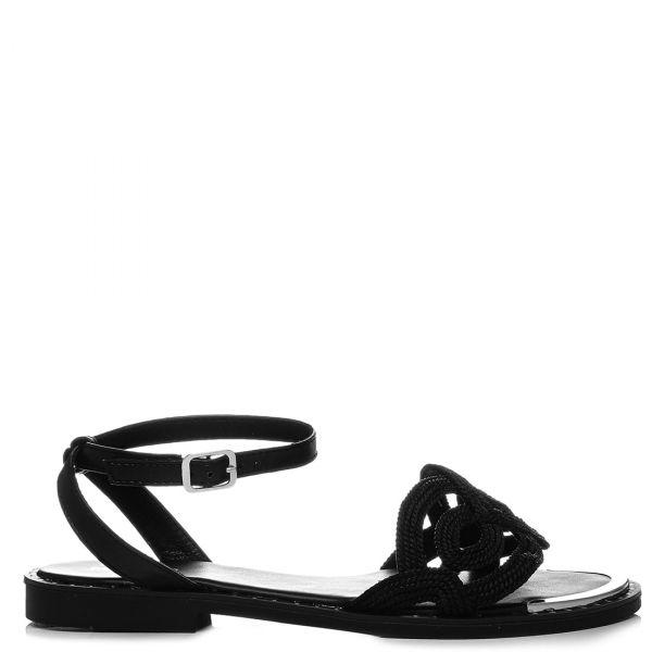 Μαύρο σανδάλι