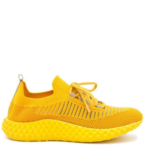 Κίτρινο ελαστικό αθλητικό