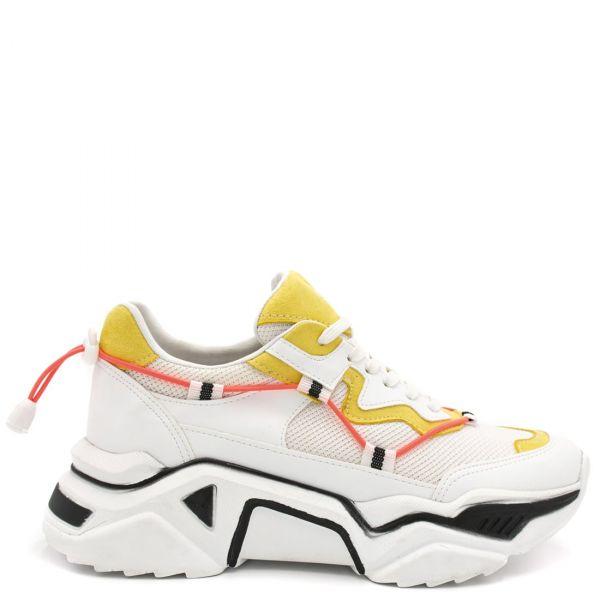 Κίτρινο chunky sole αθλητικό