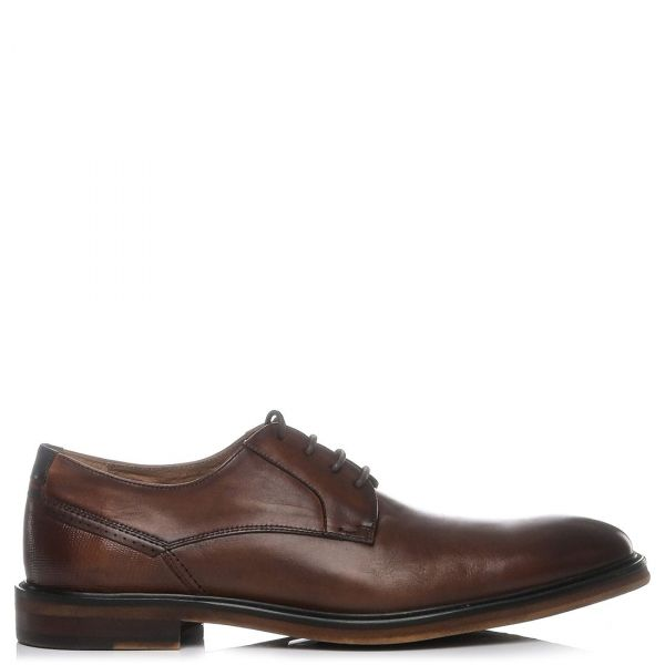 Ανδρικό ταμπά δερμάτινο παπούτσι