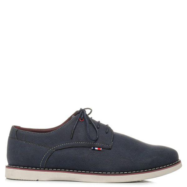 Ανδρικό σκούρο μπλε παπούτσι