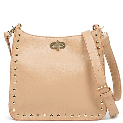 Beige cross-body bag AP2641-L10