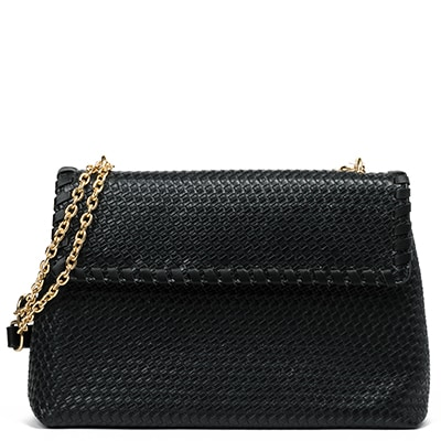 Black shoulder bag EF555-L14
