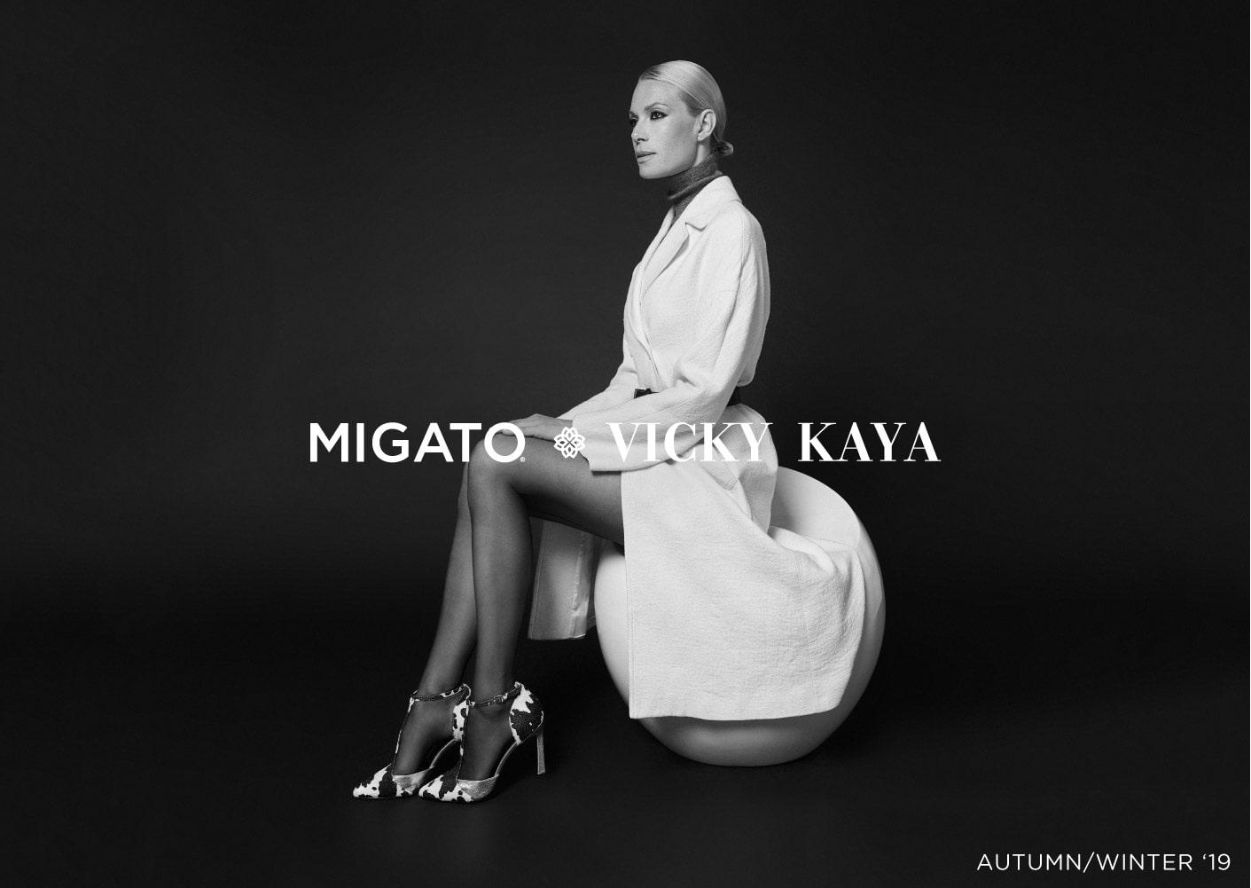 MIGATO Vicky Kaya AW19 Campaign
