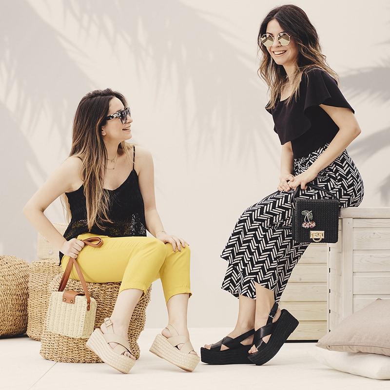 Claire and Vasia Kokkiopoulou - Fashion Has It
