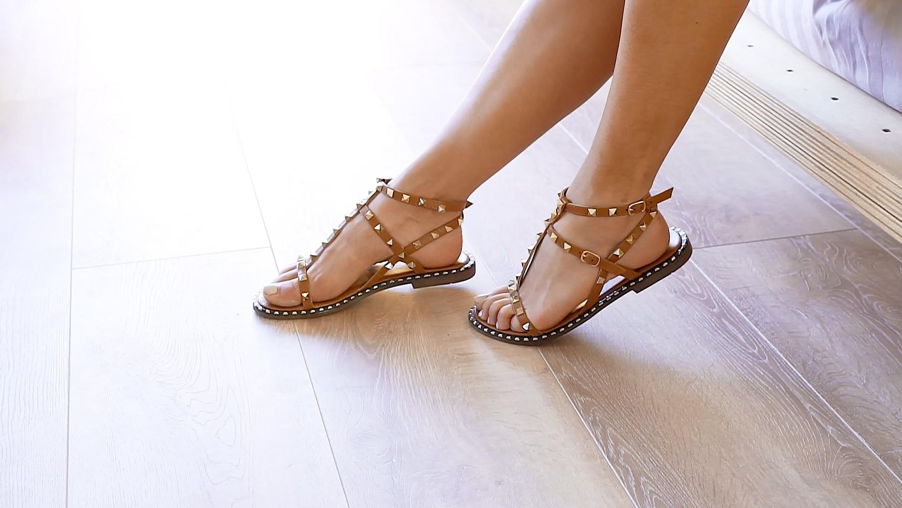 MIGATO Summer holiday wardrobe - Romper and sandals