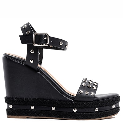 Black platform with studs MY549-L14