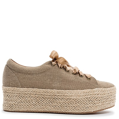 Taupe espadrille SD376-L0H