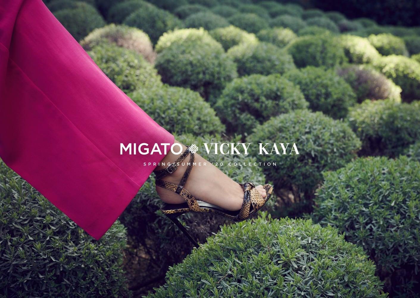 MIGATO Vicky Kaya SS20 Campaign
